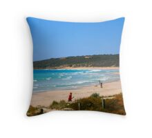 Margaret River Beach Throw Pillow
