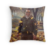 Fall Bomber Throw Pillow