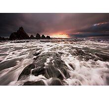 West Coast Seascape Photographic Print