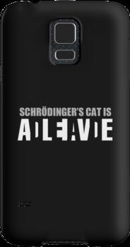 Schrödinger's cat is ADLEIAVDE by Eniac