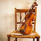The Violin by MaryWethey