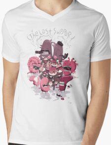 The Last Supper Mens V-Neck T-Shirt