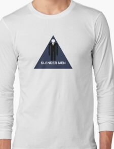 Slender Men's Room  Long Sleeve T-Shirt