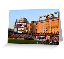 Inside Camden Yards Greeting Card