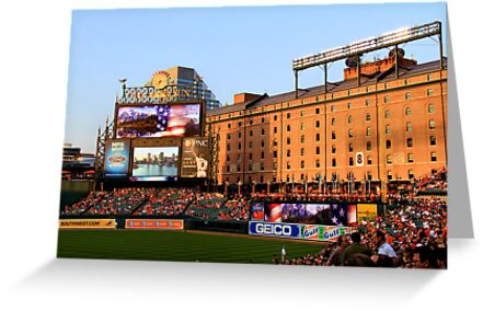 Inside Camden Yards by InvictusPhotog