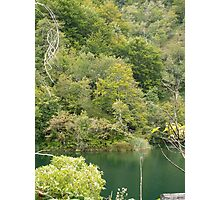 Beauty of mountain lake Photographic Print