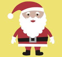 Cute Santa  One Piece - Short Sleeve