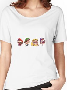 Mario/Wario Bros Women's Relaxed Fit T-Shirt