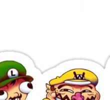 Mario/Wario Bros Sticker