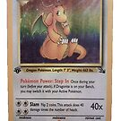 Dragonite Card by Bumblebeen
