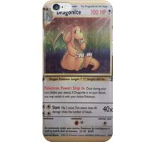 Dragonite Card iPhone Case/Skin