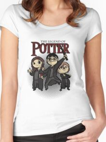 The Legend of Potter Women's Fitted Scoop T-Shirt