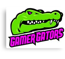 #GamerGate GamerGators Logo Canvas Print