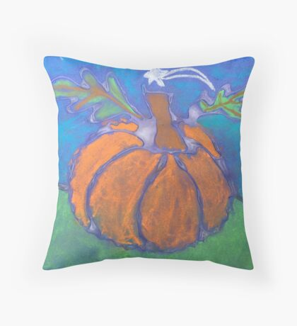 Nathan's pumpkin  Throw Pillow