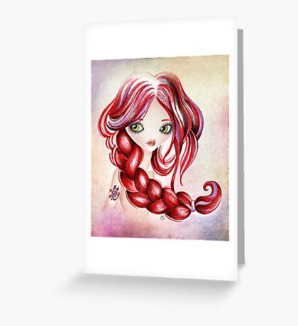 Scorpio Girl Greeting Card