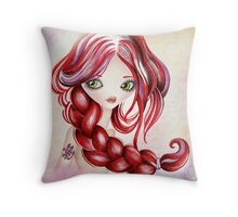 Scorpio Girl Throw Pillow