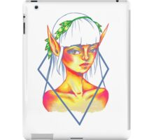 sunset elf iPad Case/Skin
