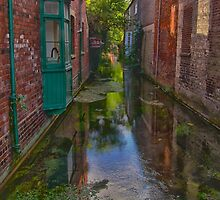 The stream between. by Kit347