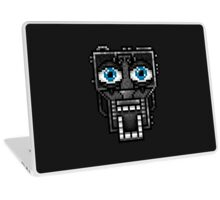 Five Nights at Freddy's 1 - Pixel art - Endoskeleton - Blue Laptop Skin