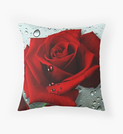 Tears from my Heart Throw Pillow