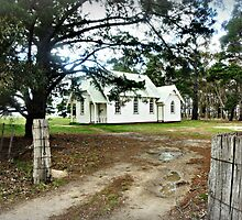 St. Stephen's  Anglican Church - Balliang, Vic. by EdsMum