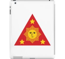 Emblem of the First Philippine Republic, 1899-1901 iPad Case/Skin