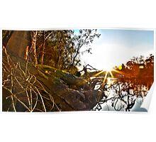HDR Sunset Echuca Poster