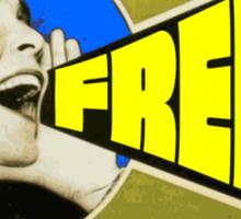 FREE PUSSY RIOT PROPAGANDA 2  Sticker