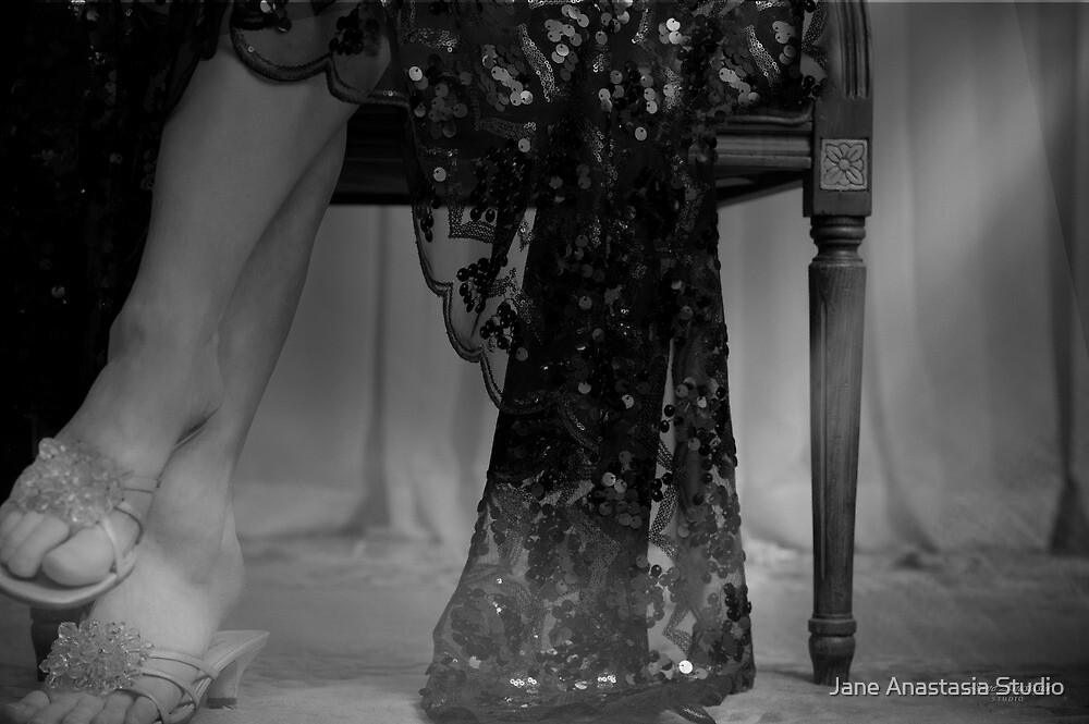 ....waiting.......... by Jane Anastasia Studio