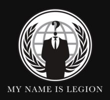 My name is legion by Thomas Jarry