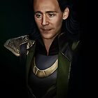 Portrait of a Prince of Asgard by nero749