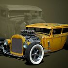 1931 Ford Sedan Rat Rod by TeeMack