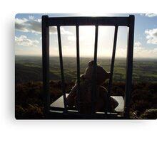 Irish Mountain Sunset Canvas Print