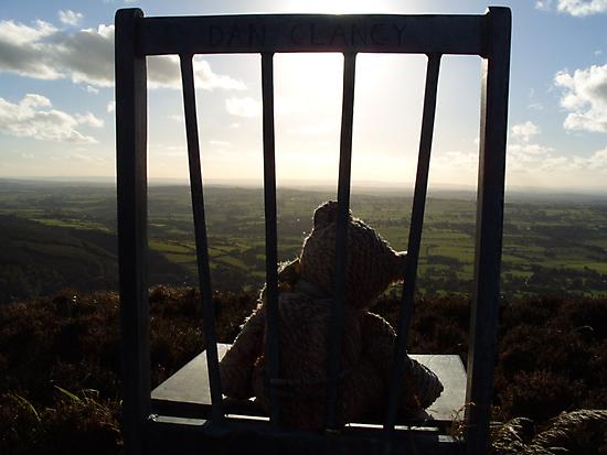 Irish Mountain Sunset by Desaster