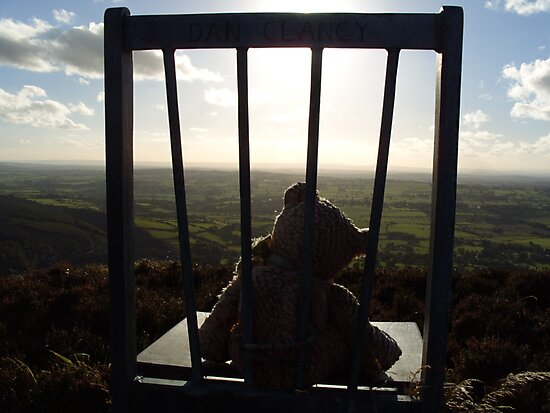 Irish Mountain Sunset by DES PALMER