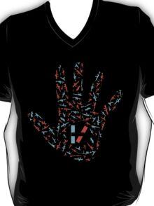 For Hands Art Black T-Shirt