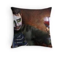 Another one for the Halloween port 2 Throw Pillow