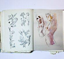 Nude in Book by Andriy Yeroshewych