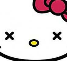 Goodbye Kitty Sticker