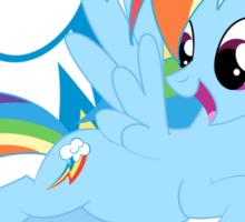 Rainbow Dash&Cutie Mark Sticker