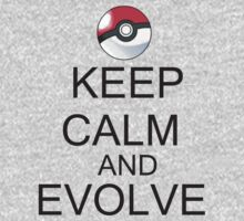 KEEP CALM AND EVOLVE Kids Tee