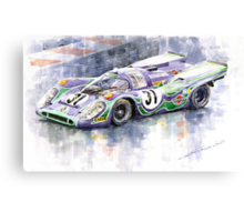 Porsche 917 K  Martini Racing 1970 Canvas Print