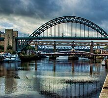 Along The Quayside by Trevor Kersley