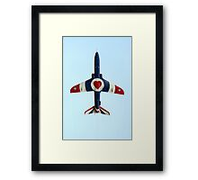 I love flying Framed Print