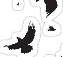 A Murder of Crows Sticker