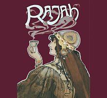 Rajah Coffee Fumes After  Henri Meunier Womens Fitted T-Shirt