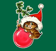 Cute Christmas Kitten  Unisex T-Shirt