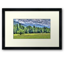 The Cove in HDR Framed Print
