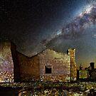 Kanyaka Ruins at Night by pablosvista2