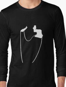 The Pearl Necklace Art Nouveau Flapper Long Sleeve T-Shirt